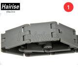 Chaîne de convoyeur en plastique Har-820 Gha de dessus de lamelle de boîte de vitesses