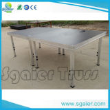 2*1m Wooden Stage, Mobile Stage, Modualr Stage, Aluminum Stage with Adjustale Legs
