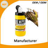 Wipes grandes industriais para a limpeza resistente da mão