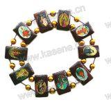 De epoxy Armband van de Rozentuin van het Beeld van Heilige Houten