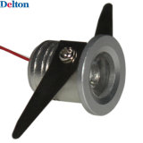 luz redonda de la cabina de 3W LED (DT-CGD-010)