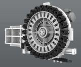 4/5 Mittellinien-bester Verkaufs-Hochgeschwindigkeitsfräsmaschine CNC (EV1270L) unterstützen