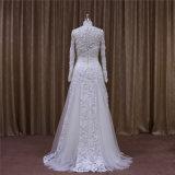 Langes Hülsen Aline Hochzeits-Kleid