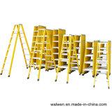4 de Dubbele Zij Draagbare Vouwbare Binnenlandse Ladder FRP van de stap
