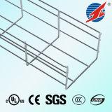 Chemin de câbles diplômée par RoHS galvanisé de treillis métallique de GV