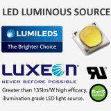 Material do corpo da lâmpada da liga de alumínio e de avaliação do IP IP65 luz elevada da baía do diodo emissor de luz