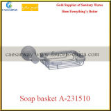 Gesundheitliche Ware-Badezimmer-Zubehör alle Messingseifen-Korb