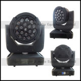 Объектив Rotating 19PCS *15W RGBW 4in1 СИД Moving Head Light с Zoom