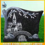 De Goedkope Grafstenen van het graniet met de Gravure van de Lijn