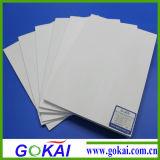 Scheda della gomma piuma del PVC di colore/piatto bianco del PVC
