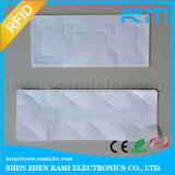 Etiqueta del parabrisas de la frecuencia ultraelevada de RFID para el vidrio del coche del sistema del estacionamiento