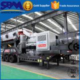 Mobile Steinzerkleinerungsmaschine, mobile Zerkleinerungsmaschine für Gesamtheiten