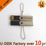 émerillon fait sur commande du logo 1-128GB/mini USB tournant Pendrive (YT-3274L)