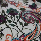 mancha de Georgette da seda de 16mm 100% com impressão de Digitas
