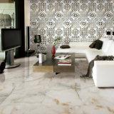 azulejo de suelo esmaltado por completo pulido de mármol de la porcelana del diseño de los 60X60cm (WG-IMB1615)