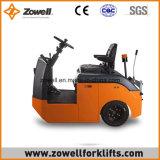 Cer-neue 4 Tonne, die auf Typeelectric Schleppen-Traktor sitzt