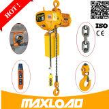 Maxload Hijstoestel van het Ontwerp van de Vrije hoogte van 1 Ton het Lage Op zwaar werk berekende Elektrische