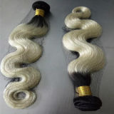 """24 """" cabelos humanos livres do emaranhado da manufatura da extensão #613 do cabelo humano"""