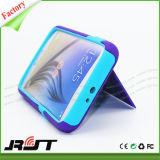 Caja del teléfono móvil de Kickstand del sostenedor de la tarjeta PC de TPU para Samsung
