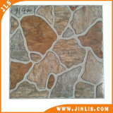 Azulejos de suelo de cerámica rústicos esmaltados caramelo del interior del material de construcción 4040