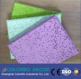 Acústico Aislamiento acústico de madera de fibra de lana de cemento paneles de pared Nterior