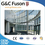 Mur rideau en verre des prix bon marché de mur rideau/bâti en aluminium visible/prix en verre de mur rideau