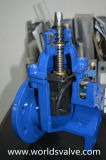 Extended Spindle (Z45X-10/16)の延性があるIron Sluice Gate Valve