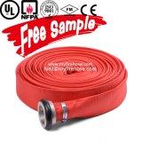 conduite d'eau de boyau flexible d'arroseuse d'incendie de la toile 13bar