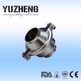 Tipo sanitário válvula da esfera de Yuzheng de verificação da soldadura
