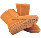 Зима высокого качества OEM теплая и удобная обувает ботинки снежка для женщин (FF93-1)