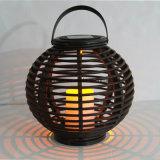 Solarlaterne-Licht mit Kerze LED