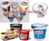 Roterende het Vullen van de Kop van de Yoghurt Verzegelende Machine