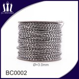 Het Roestvrij staal van de hoogste Kwaliteit 3.0mm Kleurrijke Kettingen van de Bal voor Gordijn