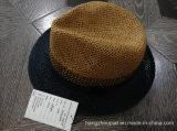 Cappello di paglia di estate della carta dell'uomo di modo (PTMSH15004)