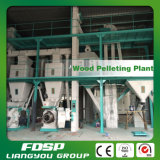 Boulette en bois de biomasse faisant l'usine de boulette d'essence de machine
