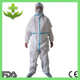 OEM Disposable Coverall van Hubei van Xiantao met FDA Ce ISO Cetificate