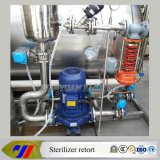 Stérilisateur horizontal d'autoclave de chauffage de vapeur
