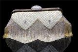 ハンドメイドのHandbag Crystalラインストーンのダイヤモンドの方法女性の女性イブニング・バッグをカスタマイズしなさい