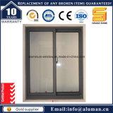 Guichet en verre coulissant horizontal de ceinture alliage d'aluminium de modèle/d'aluminium