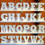 Beaucoup de genres de lettre d'ampoules de lettre de chapiteau de cru pour la décoration