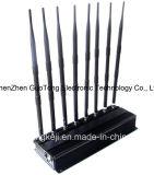 Uav Jammer Blocker Phone Signal 2g 3G 4G Jammer van Jammer van het signaal 2.4G 5.2g 5.8g