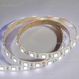 Luz de tira flexível cor-de-rosa do diodo emissor de luz de Epistar 14.4W/M