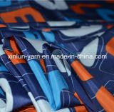 Tissu personnalisé d'impression pour le tablier de vêtement/garniture/parapluie/cuisine