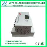 Auto 12V / 24V 60A LCD MPPT controlador de carga solar (QWM-1460CAP)