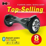 Individu sec de roues chaudes de la vente deux de Hx équilibrant le scooter électrique