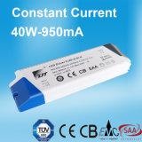 950mA 30-44V LED Stromversorgung mit konstantem Bargeld