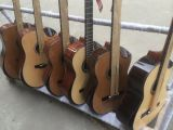 Aiersi Handmade 매력적인 특별한 디자인 포도 수확 스페인 고아한 기타 Sc02ajcn