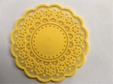 Natte molle promotionnelle en plastique de tasse de PVC 3D de qualité (CO-002)