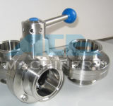 Stainless Steel Pneumatic Hygienic Welded Butterfly Valve (ACE - DF - J3)