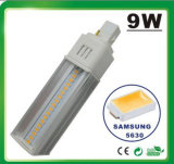 7W 5630SMD Samsung LED G24 de la lámpara PL LED